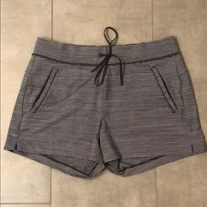 Athleta casual striped shorts